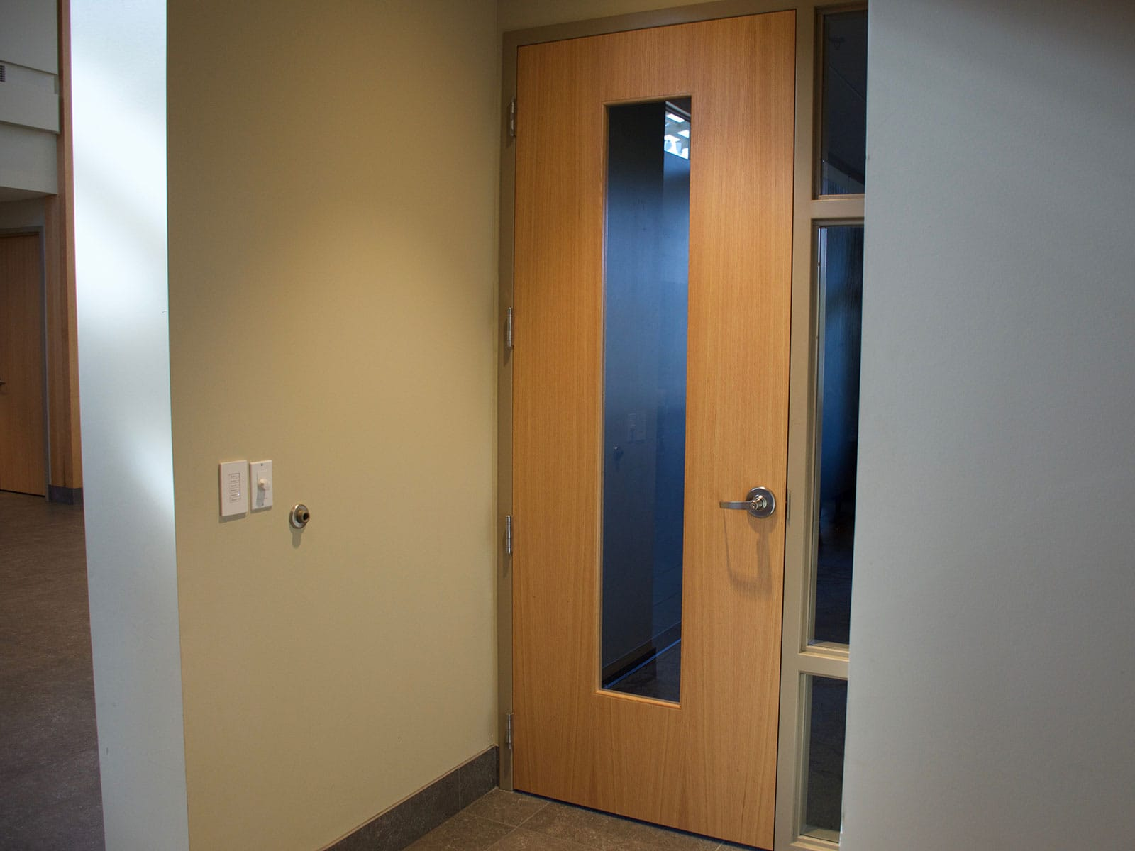 Education Commercial Interior Wood Doors Oshkosh Door